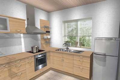 Conception et installation de cuisine sur-mesure