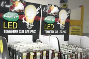Ampoules & LED - Piles & chargeurs - Lampes torche - Projecteurs de chantier - Réglettes - Réglettes étanches