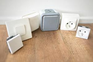 Interrupteurs & prises encastrables, à poser, en saillie - Interrupteurs & prises étanches - Programmateurs - Multiprises & parafoudres - Fiches électriques
